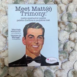 The balm cosmetic MEET MATT(e) TRIMONY eyeshadow